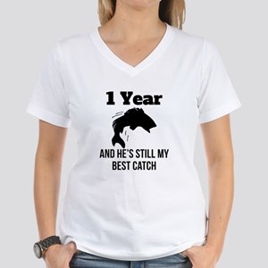 1 Year Best Catch T-Shirt