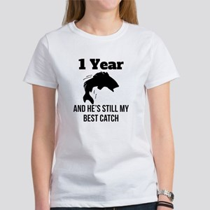 1 Year Best Catch T-Shirt