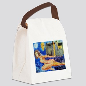 night moods Canvas Lunch Bag