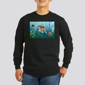 Thor in the Sea Long Sleeve T-Shirt