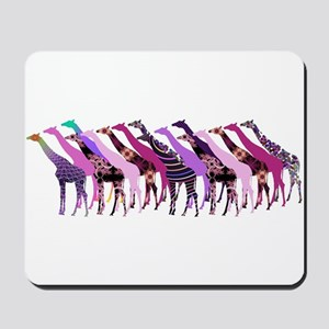 Lots of Giraffes Design 2 Mousepad
