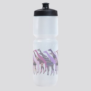 Lots of Giraffes Design 2 Sports Bottle