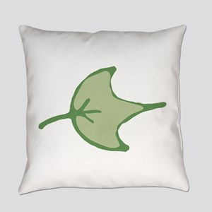 Tropical Leaves Illustration Everyday Pillow