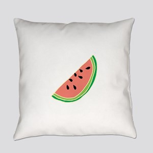 Watermelon Fruit Illustration Everyday Pillow