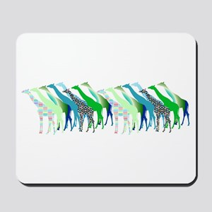 Lots of Giraffes Design 1 Mousepad