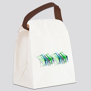 Lots of Giraffes Design 1 Canvas Lunch Bag