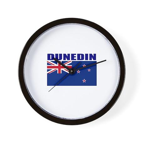 Dunedin, New Zealand Wall Clock