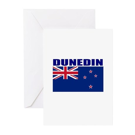 Dunedin, New Zealand Greeting Cards (Pk of 10)