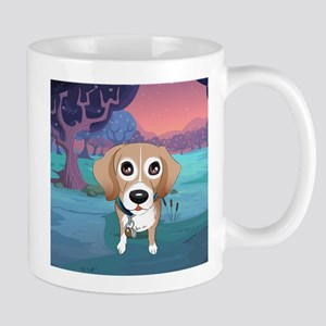 Thor in the woods Mugs