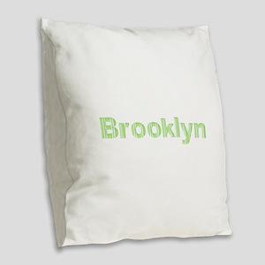 Brooklyn Burlap Throw Pillow