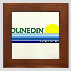 Dunedin, New Zealand Framed Tile