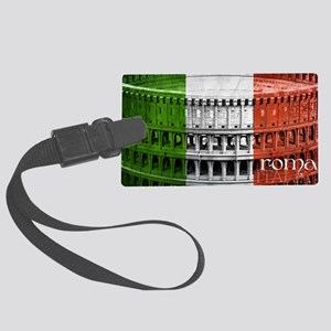 ROMA ITALIA COLISEUM Large Luggage Tag