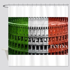 ROMA ITALIA COLISEUM Shower Curtain