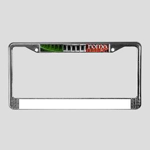 ROMA ITALIA COLISEUM License Plate Frame