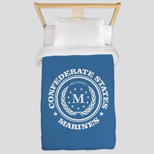 Confederate Marines Twin Duvet