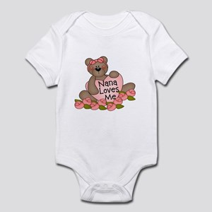 Nana Loves Me CUTE Bear Infant Bodysuit