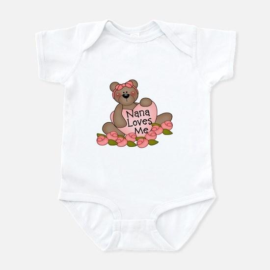 Nana Loves Me CUTE Bear Infant Bodysuit