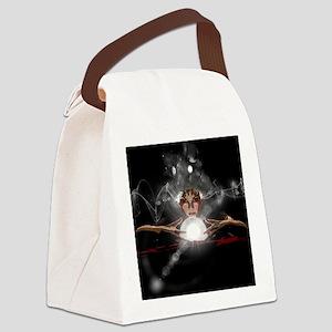 Mystic Canvas Lunch Bag