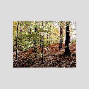 Sunny Woods 5'x7'area Rug