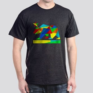 California State Flag Bear (colors & angles) T-Shi