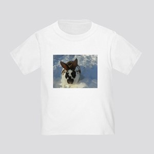 Broken Chocolate Mini Rex Toddler T-Shirt