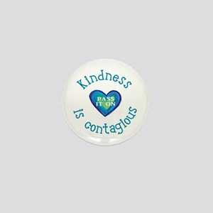 Kindness is Contagious Mini Button