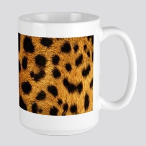 girly trendy leopard print Mugs