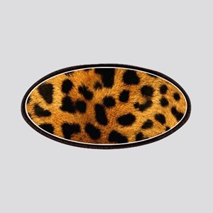 girly trendy leopard print Patch