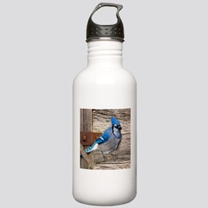 rustic barn wood blue Stainless Water Bottle 1.0L