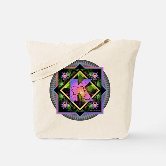 Bold Beautiful K Tote Bag