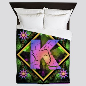 Bold Beautiful K Queen Duvet
