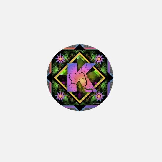 Bold Beautiful K Mini Button