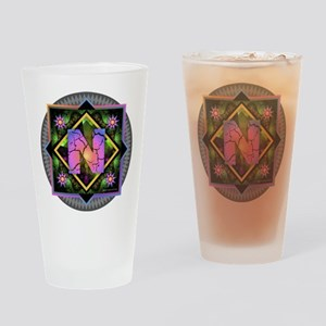 Bold Beautiful N Drinking Glass