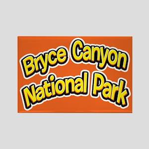 Bryce Canyon National Park (Cartoon) Rectangle Mag