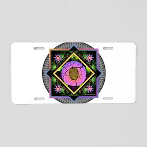 Bold Beautiful O Aluminum License Plate