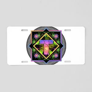Bold Beautiful T Aluminum License Plate