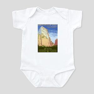 1930s Vintage Zion National Park Infant Bodysuit
