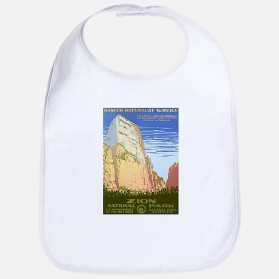 1930s Vintage Zion National Park Bib