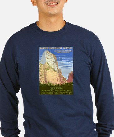 1930s Vintage Zion National Park T