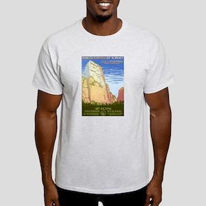 1930s Vintage Zion National Park Light T-Shirt