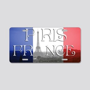 PARIS FRANCE EIFFEL TOWER Aluminum License Plate