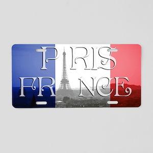 PARIS FRANCE EIFFEL TOWER Aluminum License Plate