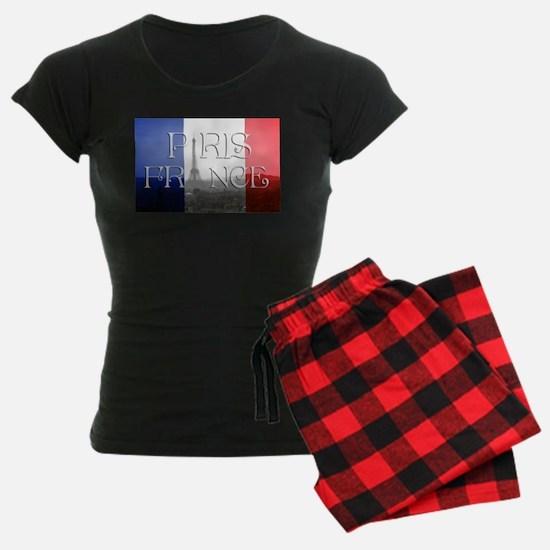 PARIS FRANCE EIFFEL TOWER Pajamas