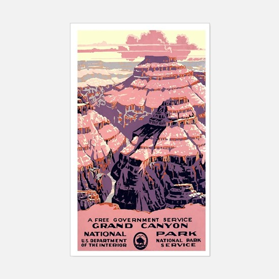 1930s Vintage Grand Canyon National Park Decal