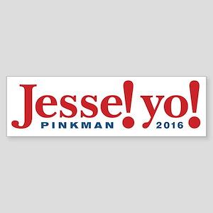 Jesse Pinkman 2016 Bumper Sticker