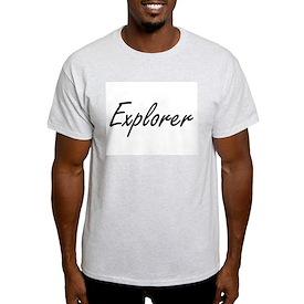 Explorer Artistic Job Design T-Shirt