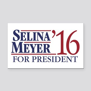 Selina Meyer For President Rectangle Car Magnet