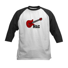 Guitar - Mac Kids Baseball Jersey