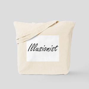 Illusionist Artistic Job Design Tote Bag