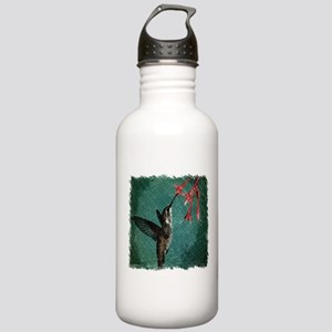 modern teal floral hu Stainless Water Bottle 1.0L